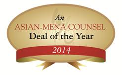Asian-Mena Counsel Deal of the Year Awards 2014